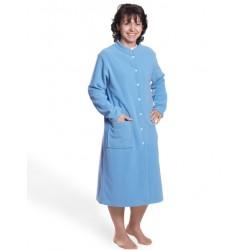 Robe de chambre classique polaire modèle femme