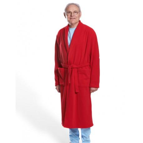 Robe de chambre classique polaire modèle homme