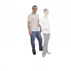 T-shirt médicalisé  Modèle homme