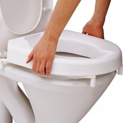 Rehausse toilette 10cm sans couvercle
