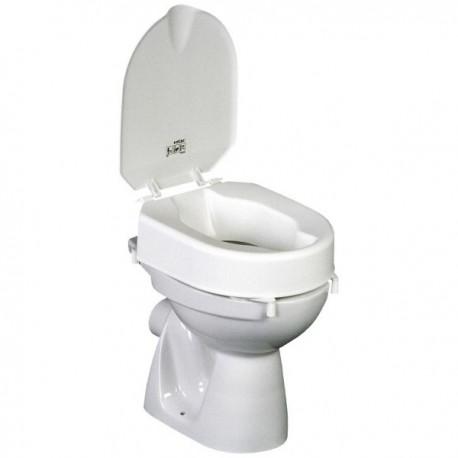 rehausse toilette 10cm avec couvercle presti mat vente de mat riel m dical. Black Bedroom Furniture Sets. Home Design Ideas