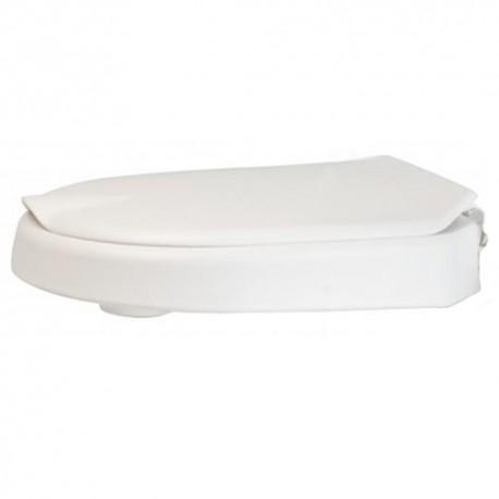 Rehausse toilette 6 cm avec couvercle